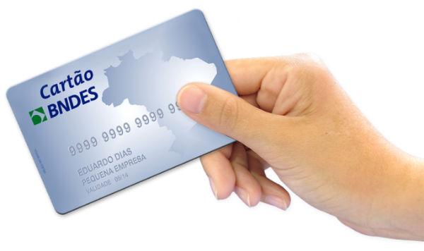 bndes cartão como solicitar