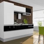 Cozinha Linea branca preto 150x150 Cozinhas Itatiaia Preços