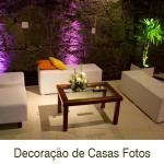 Decoração de Casas 150x150 Decoração de Casas Fotos