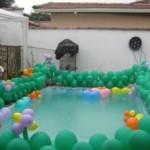 Decoração de Piscina com Balões 1 150x150 Decoração de Piscina com Balões