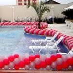 Decoração de Piscina com Balões 2 150x150 Decoração de Piscina com Balões