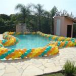 Decoração de Piscina com Balões 3 150x150 Decoração de Piscina com Balões