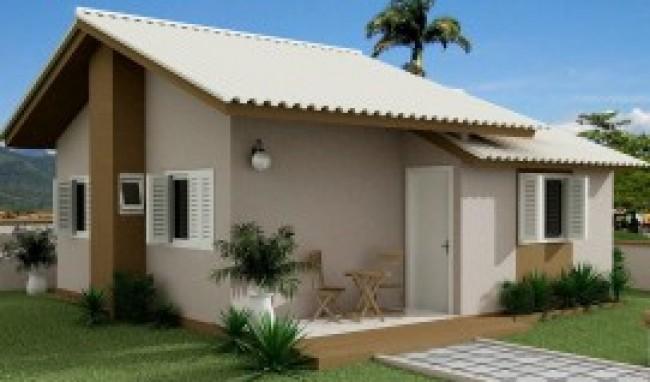 Fachada De Casa Terrea 64 150x150 Fachadas Residenciais Modernas