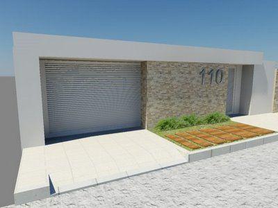 Fachadas de muros residenciais - Construindo Casa