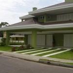 Frente de Casas Residenciais Decoradas Com Jardim Fotos3 150x150 Frente de Casas: Residenciais, Decoradas Com Jardim – Fotos