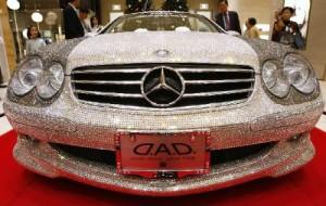 Fotos Mercedes-Benz de cristais Swarovski