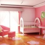 Quarto de bebe decorado Tudo Rosa 150x150 Dicas para decorar quarto infantil pequeno
