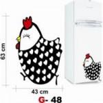 Use Adesivos Para Geladeiras e Renove Sua Cozinha 4 150x150 Adesivos de Geladeira   Decoração com Adesivos