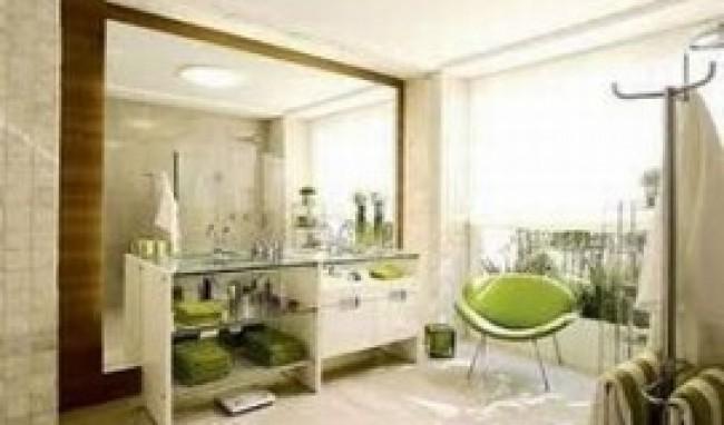 Ambiente moderno decorado com espelho. (Foto: Divulgação)