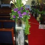 decoração com flores 6 150x150 Decoração Com Flores Para Festas, Fotos