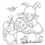 desenhos de páscoa para colorir 150x150 Desenhos De Páscoa Para Colorir
