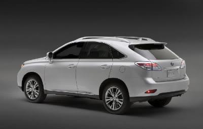 Fotos do novo modelo Lexus suv de luxo RX