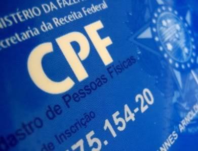 2ª Via CPF pela Internet