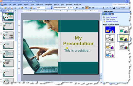 Apresentacao power point online