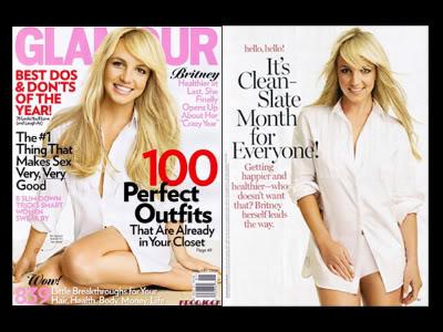capa da 'Glamour' 2009
