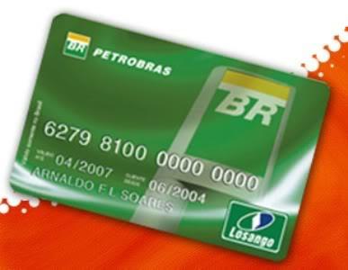 Cartão Petrobrás