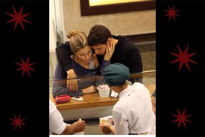 Fotos Cauã Reymond e Grazi Massafera em shopping