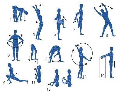 Exercicios de alongamento