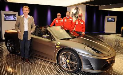 Ferrari celebra 16º titulo na F1
