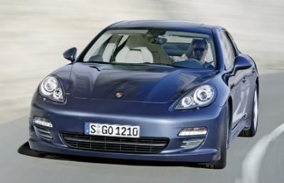 Foto do novo Porsche Panamera