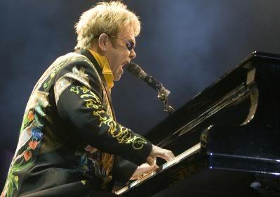 Fotos do show de Elton John em São Paulo