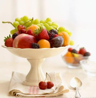 combata com frutas