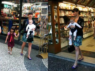 Foto Maria Paula com os filhos