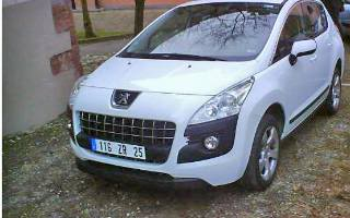 Fotos do Peugeot crossover 3008