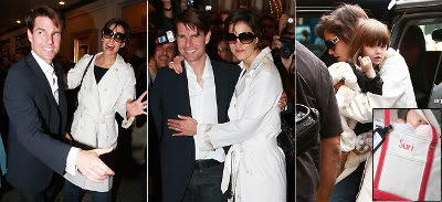 Fotos de Tom Cruise e familia