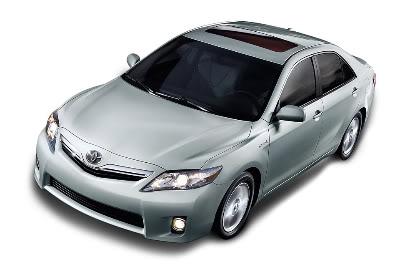 Foto do novo Camry da Toyota