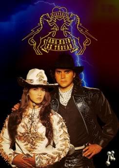 Ana Raio e Zé Trovão