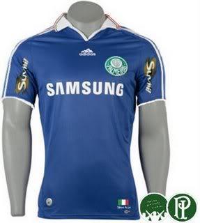 Camisa Azul do Palmeiras
