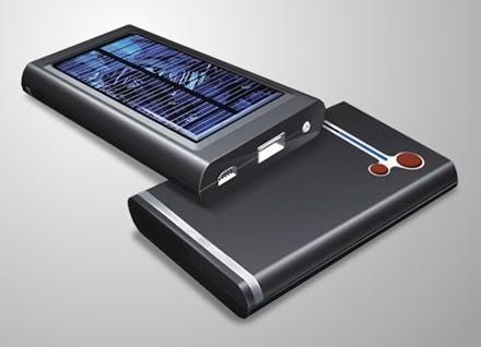 Carregador iPower SX solar para gadgets