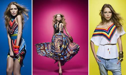 Cores da moda 2010