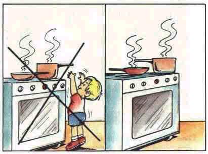 Como evitar Queimaduras Com Crianças Dentro de Casa
