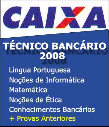 Edital CEF 2008