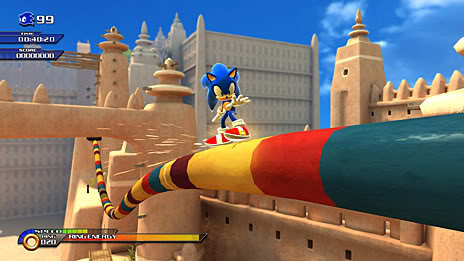 Fotos Novo Jogo Sonic