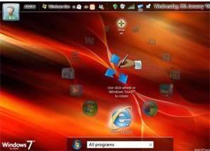 Fotos Novo Windows Seven