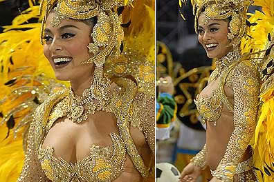 Fotos Juliana Paes Carnaval 2008