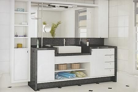 Fotos banheiros planejados