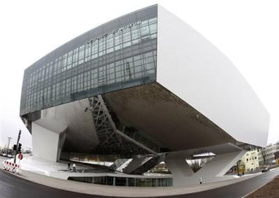 Fotos do museu da Porsche