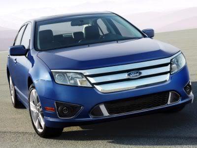 Foto do novo Ford Fusion