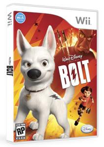Game: Cachorro Bolt no Brasil em 2009