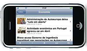 iPhone-notícias-RTP