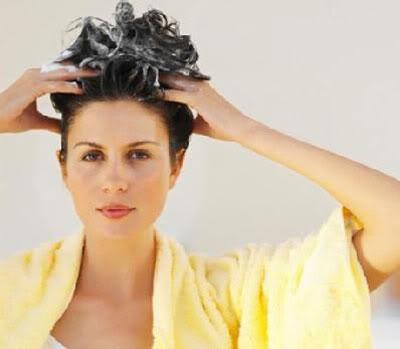 lavar cabelo Hidratação caseira para os cabelos