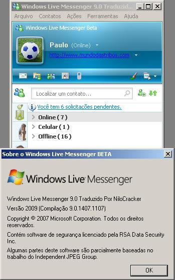Download Windows Live Messenger 9 Beta