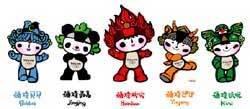 Mascotes de Pequim 2008