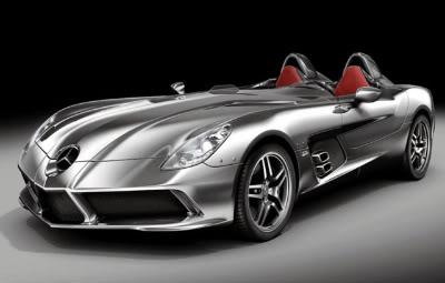 Fotos da nova Mercedes SLR esportivo 2009