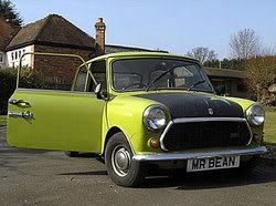 Carro Antigo, Minis Morris - O Carro do Mr. Bean
