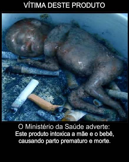 Novas Imagens nos Maços de Cigarro